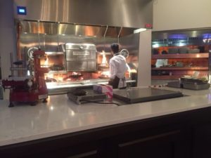 Three Embers at Marriott Lincolnshire Resort features a state-of-the-art grills, ovens and open kitchen.