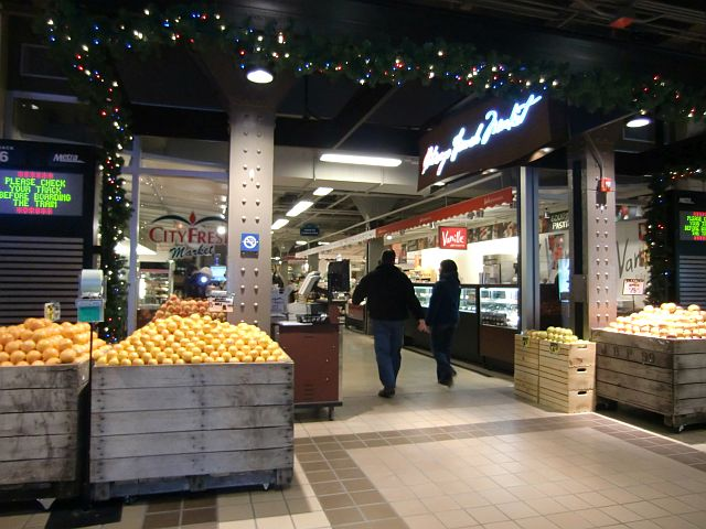 Dinner problem? Chicago French Market has a solution