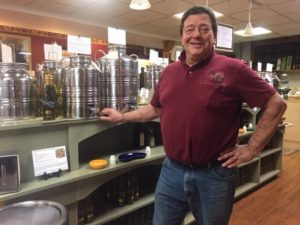 Olive Tap owner Rick Petrocelly