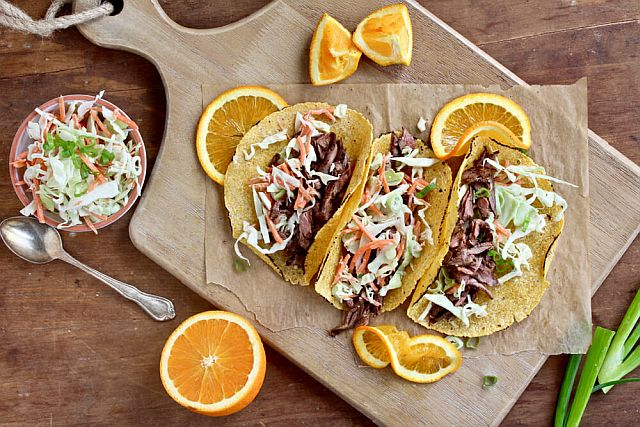 Sara Haas' BBQ Skirt Steak Tacos