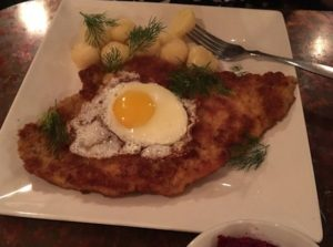 Vienna Schnitzel at Staropolska. (Photos by Reno Lovison)