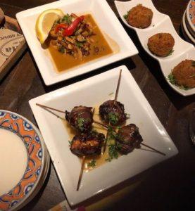 Tapas at Cafe Seville, Long Beach