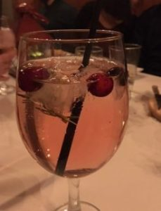 The Shanty's Rosemary Holiday Fruit Punch Sangria