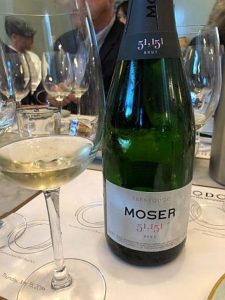 The Moer 51,151 Brut NV was among the Trentococ sparkling wines I liked at a tasting. (J Jacobs photo)
