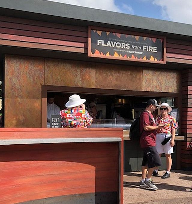 Food and wine days return to Epcot