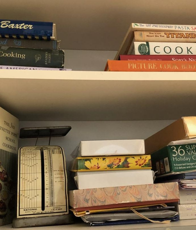 Thoughts for Buffet is still on some kitchen shelves