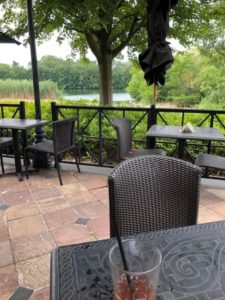 a favorite lunch with a view spot at the Cheesecake Factory in Lincolnshire. (J Jacobs photo)