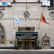 Lawry'e Prime Rib is in the former MacCormick Mansion on Ontario just west of Michigan Avenue. (Lawry's photo)
