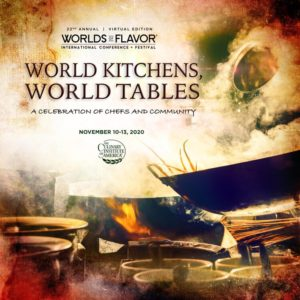 Culinary Institute of America' World Kitchens World tables conference goes virtual. (CIA photo)