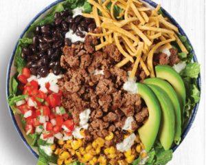 Rubio's Impossible Taco Salad (Photo courtesy of Rubio's coastal Grill)