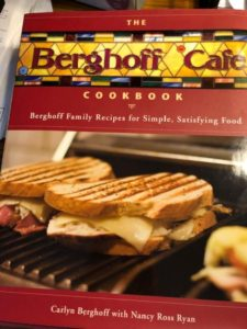 Berghoff Cafe cookbook (J Jacobs photo)